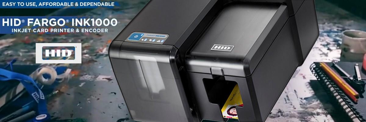 Promo Fargo INK1000 - Stampante Tessere Inkjet